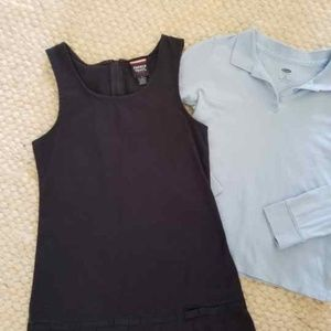 Girls School Uniform Outfit, Size 6-7 Years